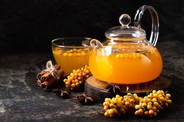 Вкусный и полезный чай из облепихи