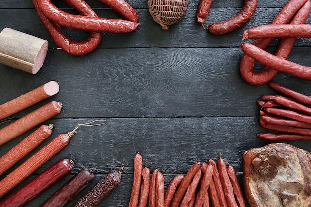 Вкусное и жареное мясо