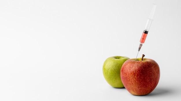 Alimento modificato ogm di mele delizioso