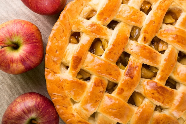 맛있는 사과 파이, 클로즈업