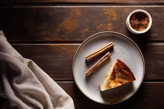 Delicious apple pie composition