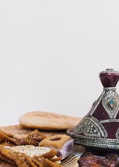 Вкусная арабская пищевая композиция для рамадана