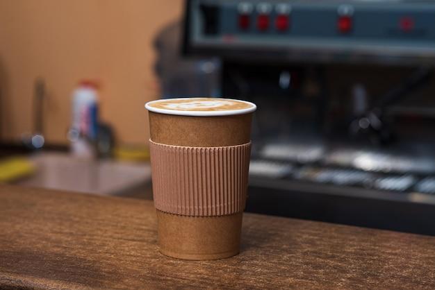 맛있고 향기롭고 상쾌한 카푸치노 커피