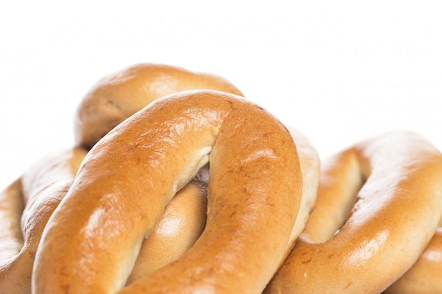 Delicious bagels made from good wheat