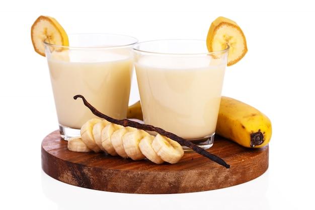 Frullato di banana delizioso