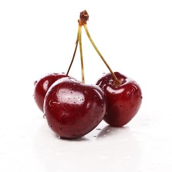 테이블에 맛있는 딸기