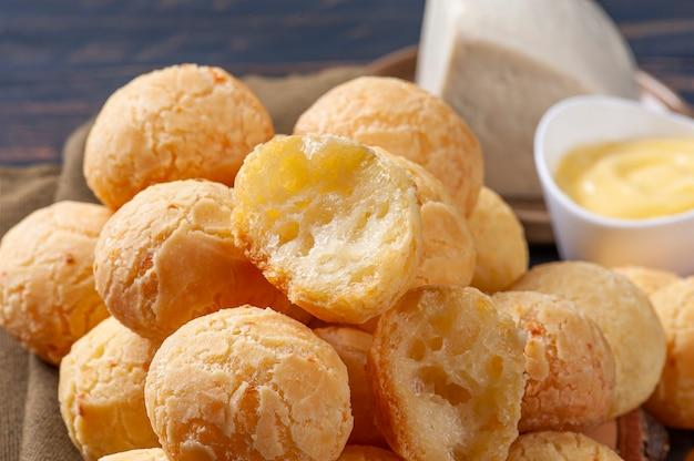 Delicious brazilian cheese bread