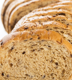 Delicious bread made from good wheat