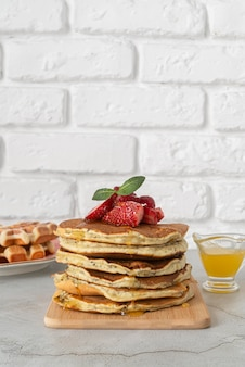 맛있는 아침 식사 구성