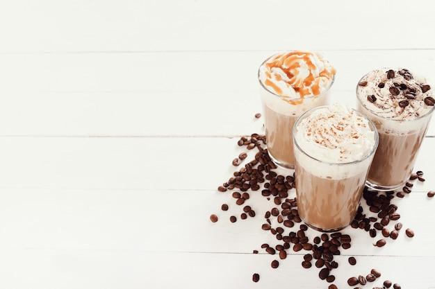 Delicious cappuccino coffee