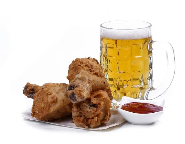 Delicious chicken legs