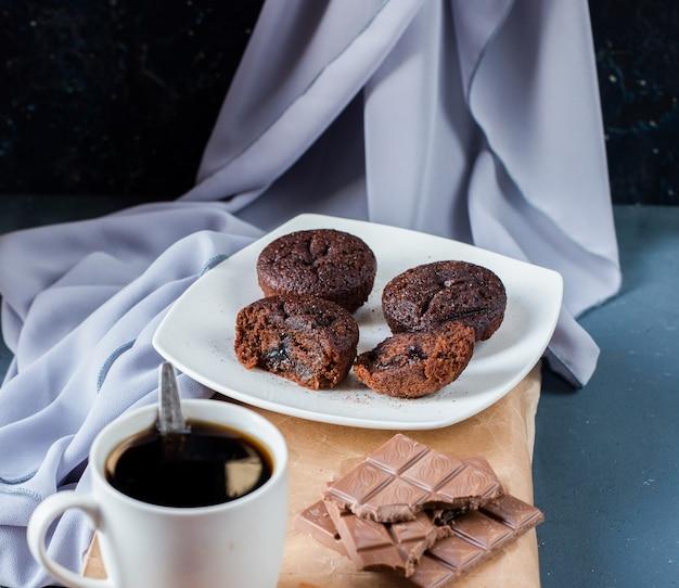 Delicious chocolate dessert