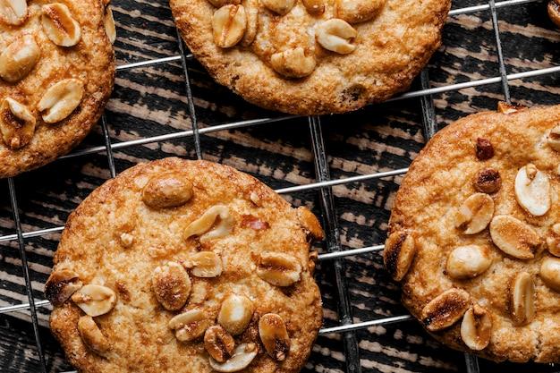 Плоская планировка вкусного печенья Бесплатные Фотографии