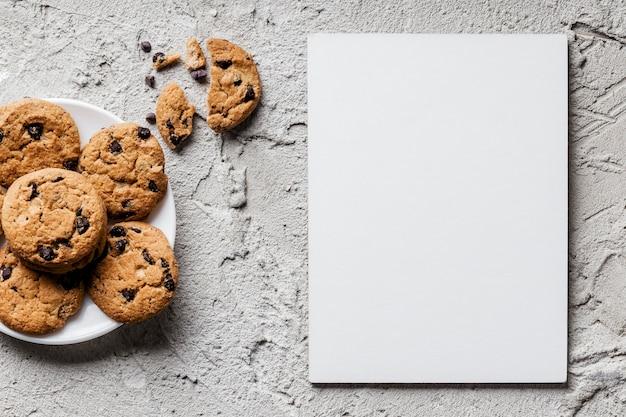 おいしいクッキーの上面図