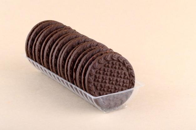 おいしいクリームビスケットまたはクッキー