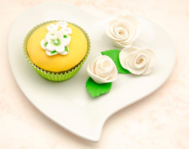 Delicious cupcakes decorated