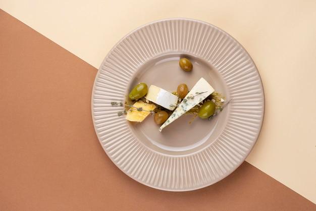 Delicious fancy food arrangement