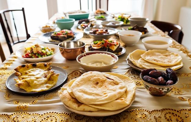 Вкусная еда для праздника рамадан