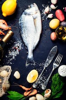 Вкусная свежая рыба
