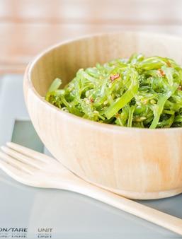 Delicious fresh seaweed spicy salad