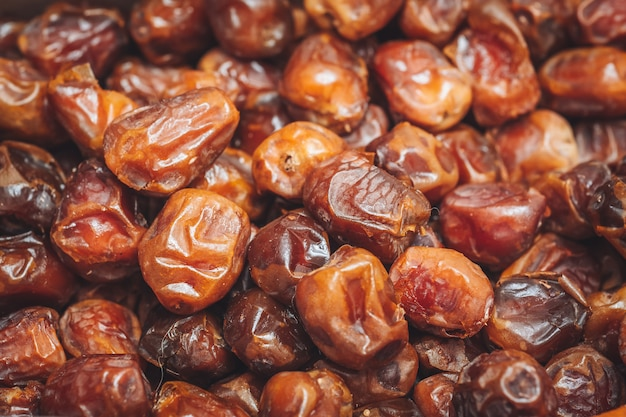 Delicious fresh and sweet sukkari dates