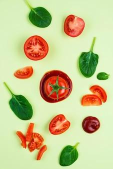 맛있는 신선한 야채 모듬