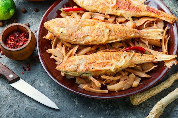 맛있는 생선 튀김