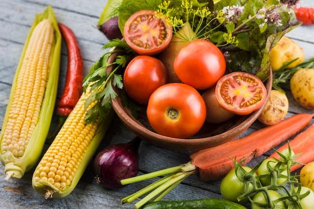 Вкусный урожай крупным планом