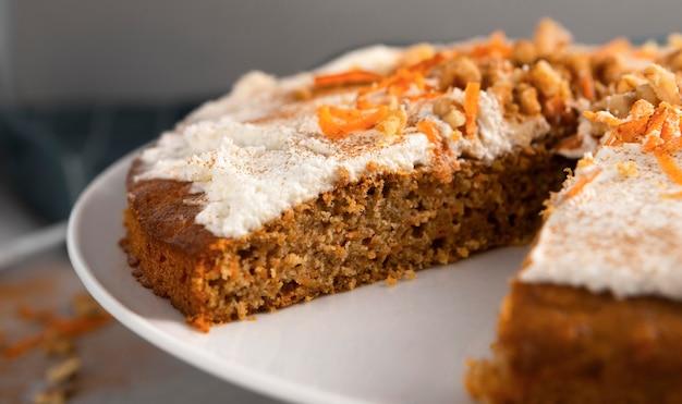 Вкусный полезный десерт с морковью