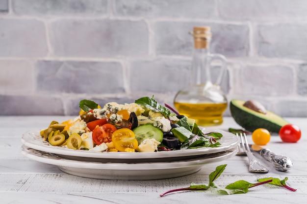 Delicious homemade cobb salad