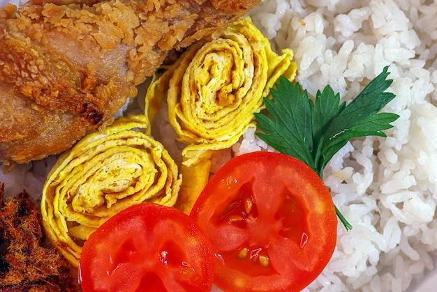 Delicious homemade food for schoolchildren