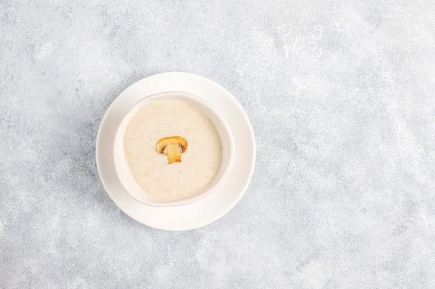 맛있는 수제 버섯 크림 스프, 평면도