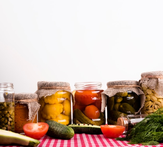 Delicious homemade preserves