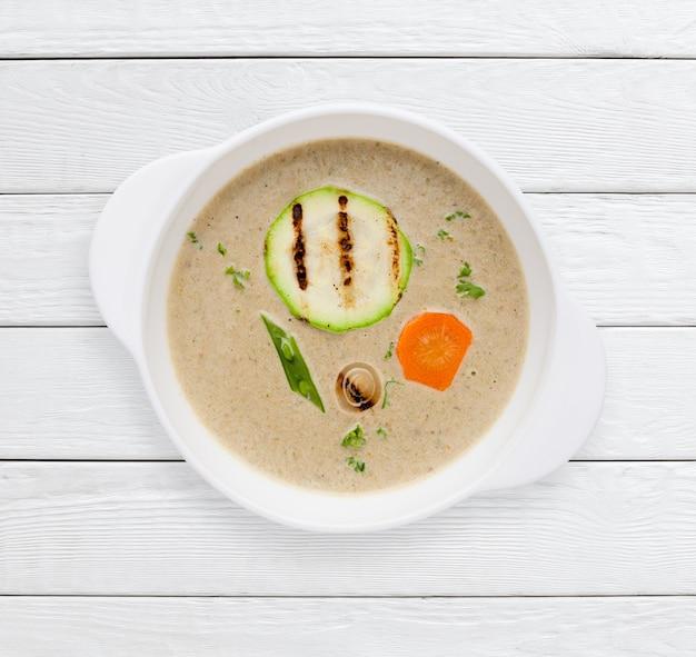 Delicious homemade vegetable cream soup