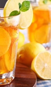 Delicious iced tea