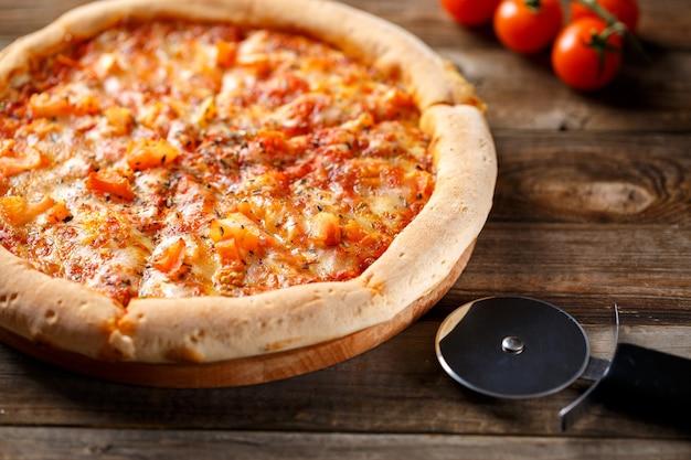 맛있는 이탈리아 피자