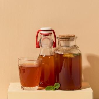 Вкусный напиток из чайного гриба
