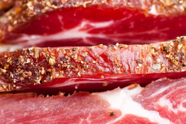 향신료와 함께 맛있는 고기