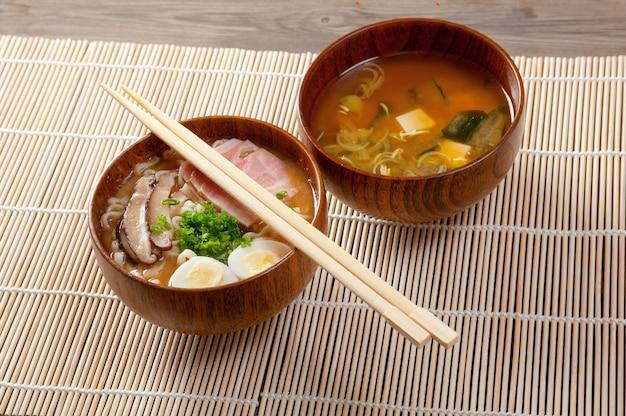 맛있는 된장라면 일본 스프