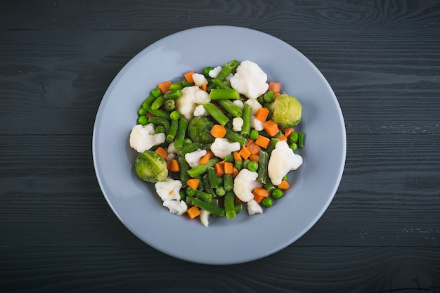 おいしい野菜の盛り合わせ