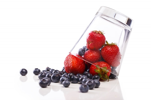 Delicious and natural berries
