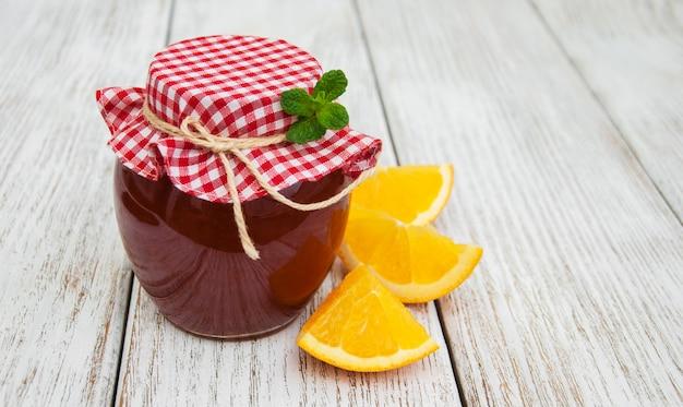Delicious orange jam