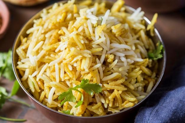 おいしいパキスタン料理のアレンジメント
