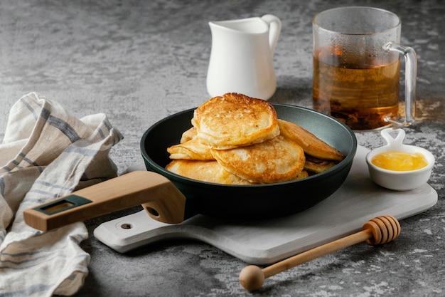 パンアレンジの美味しいパンケーキ
