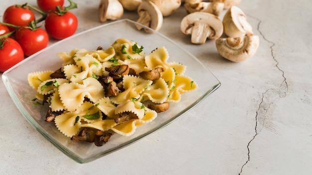 Delicious pasta dish