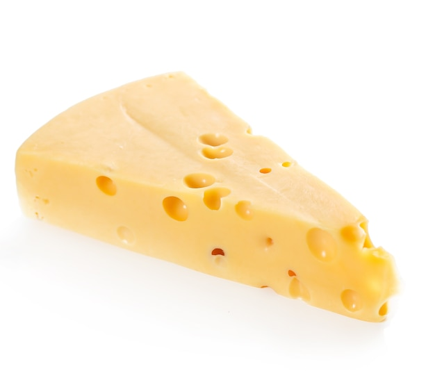 Delicious piece of cheese
