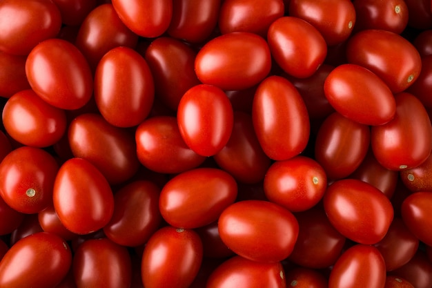 Delicious red tomatoes, can be used as