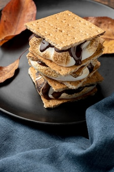 Delicious s'mores dessert arrangement