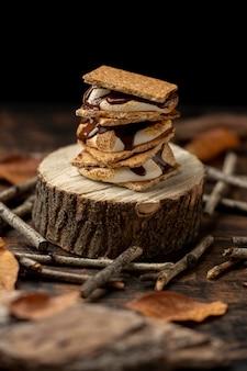 Delicious s'mores dessert assortment