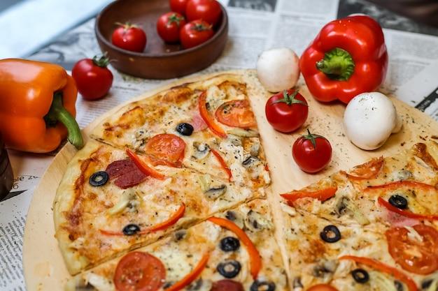 Deliziosa pizza sudjuk